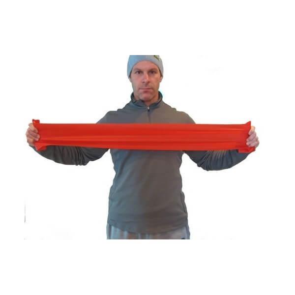 Taśma rehabilitacyjna - czerwona