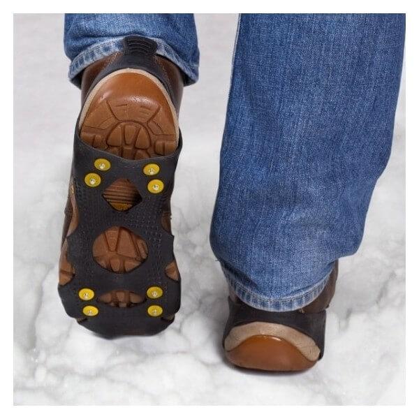 Antypoślizgowe raki na buty