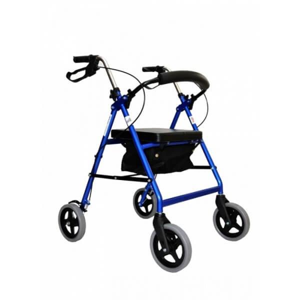 Podpórka inwalidzka czterokołowa -...