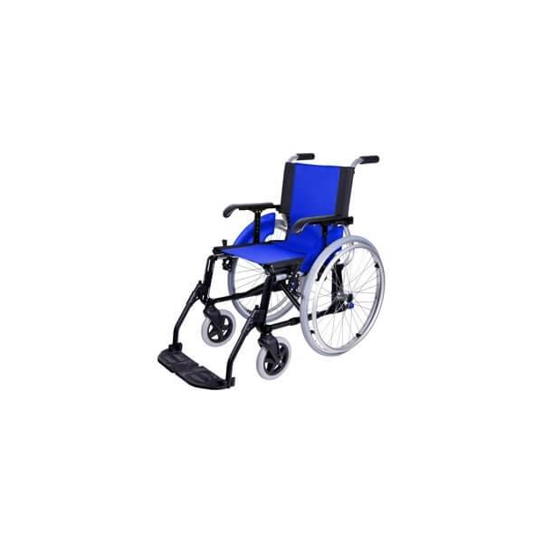 Wózek inwalidzki aluminiowy lekki na...