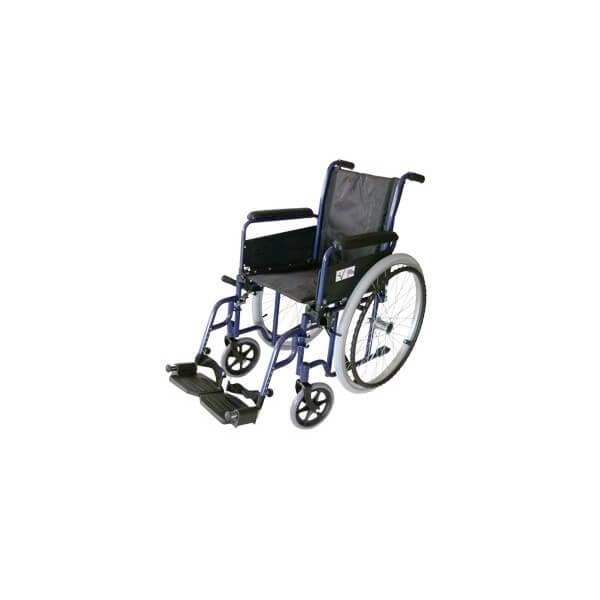 Wózek inwalidzki stalowy z hamulcami...