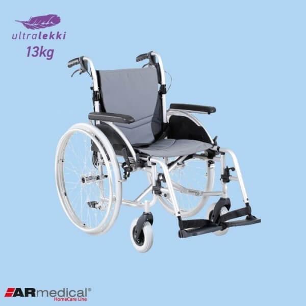Bardzo lekki wózek inwalidzki...