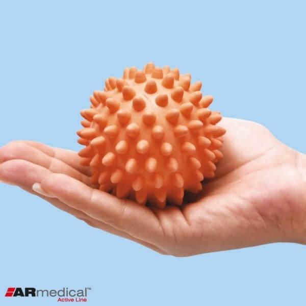 Piłka do rehabilitacji dłoni z kolcami