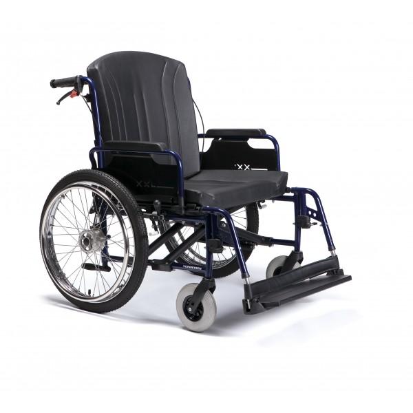 Lekki wózek inwalidzki ECLIPS XXL dla osób bardzo otyłych