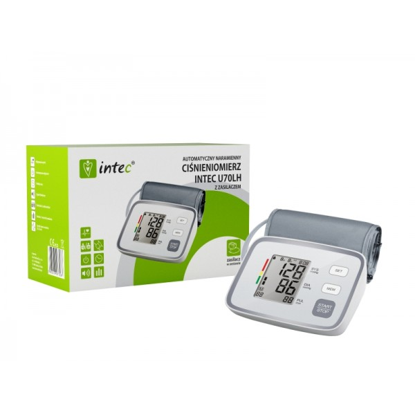 Ciśnieniomierz Automatyczny Intec U70LH