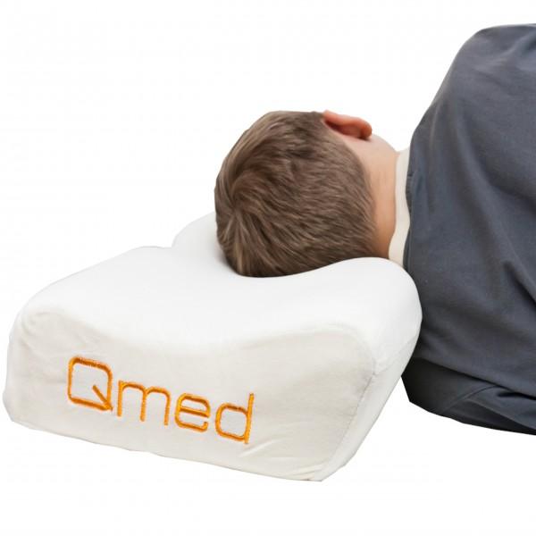 Profilowana poduszka ortopedyczna QMED - z pamięcią
