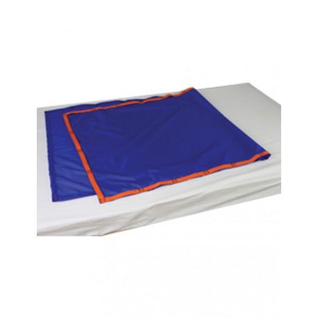 Podkład ślizgowy z bocznymi uchwytami 75x190 cm