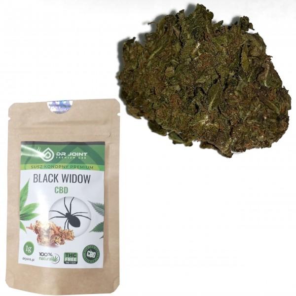 Susz Konopny Black Widow 1g CBD 6%