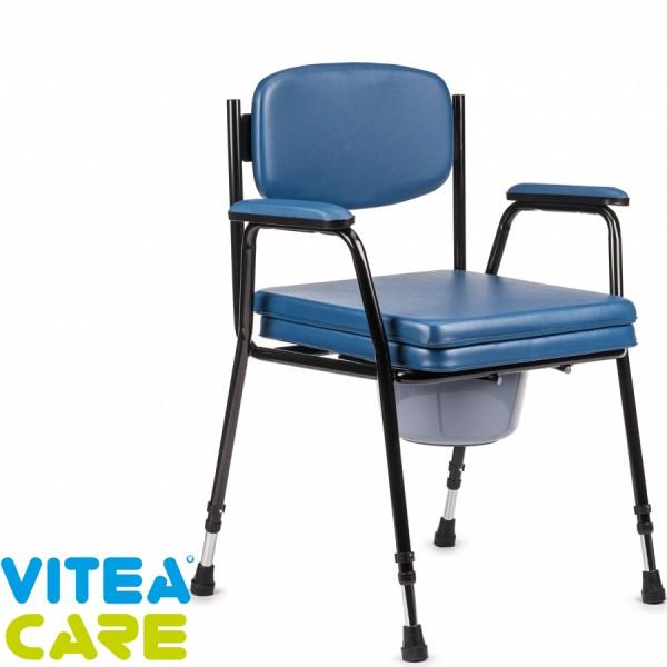 Tapicerowane krzesło toaletowe z...